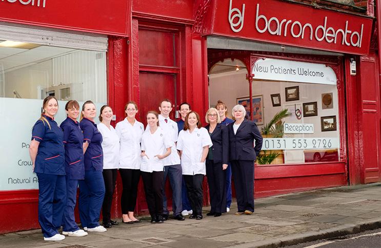 The Barron Dental Team, Edinburgh. Contact their Emergency Dentist for dental emergencies.