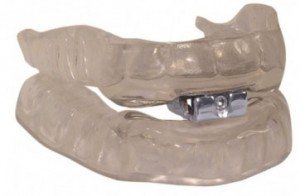 Sleepwell Mandibular Advancement Splints (MAS). A recommended snoring aid, fitted by Barron Dental, Edinburgh, Leith. Contact us regarding snoring aids for good night's rest.